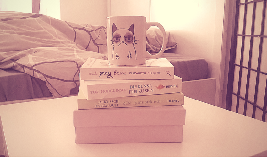 Ladies Edition inspirisiert. Grumpy Cat & Books
